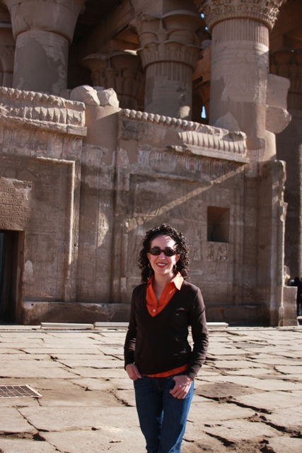 Me at Kom Ombo