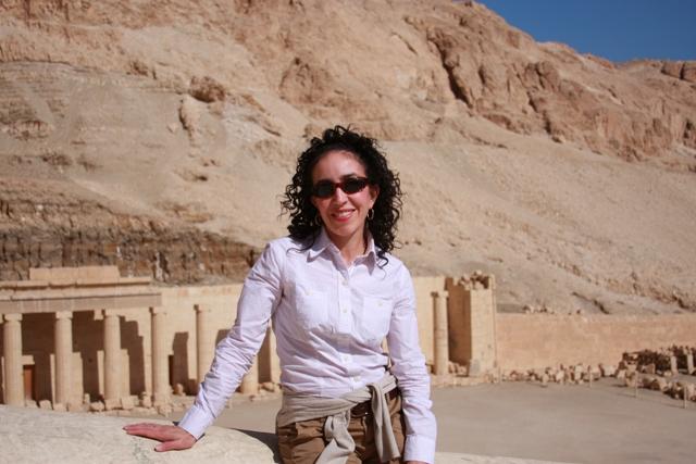 Me at Hatshepsut Temple