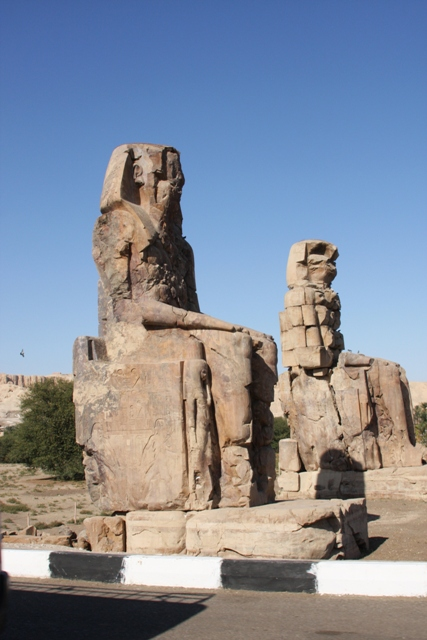 Colossi of Memnon -Side view