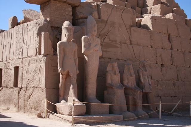 Five Statues - Karnak