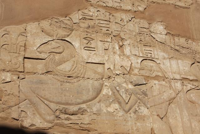 Hieroglyphics at Karnak