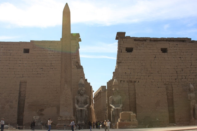 Entrance to Luxor
