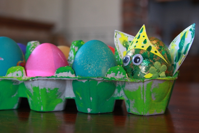Decorated Eggs with Fairy