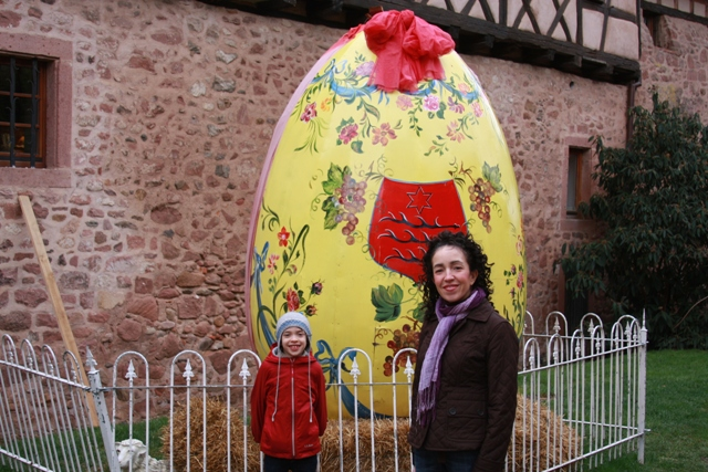 Easter Egg in Riquewihr