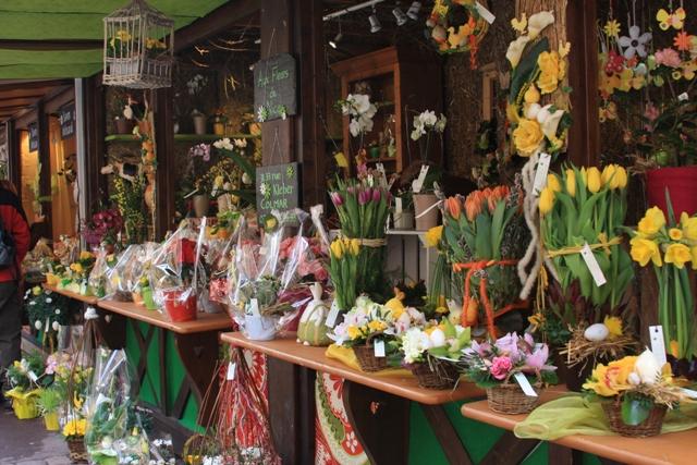 Colmar Easter Flowers