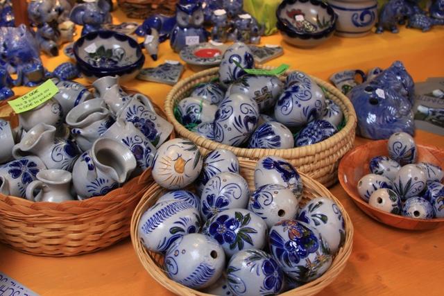 Salt Pottery Eggs