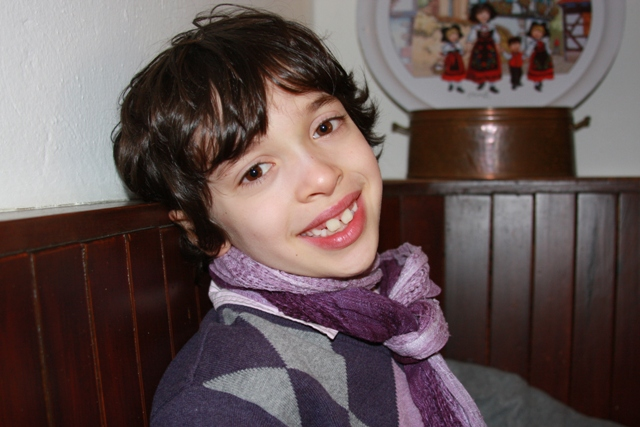 C with my scarf