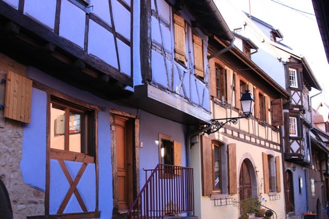Cobalt half timbered house