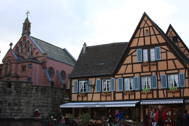 Eguisheim Main Square