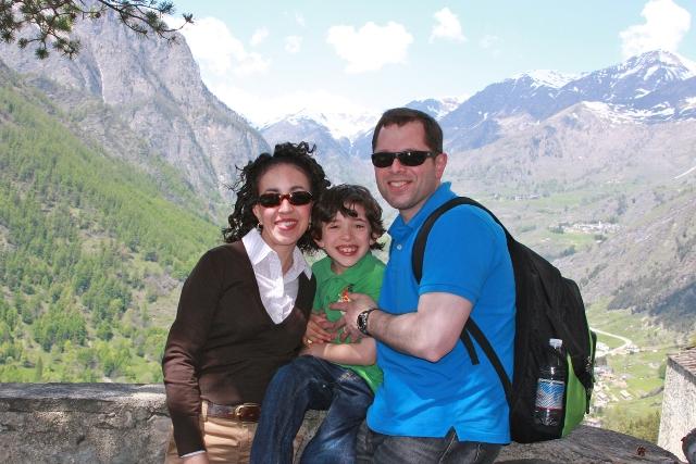 Italy - Family Photo