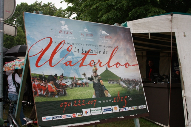 Battle of Waterloo Sign