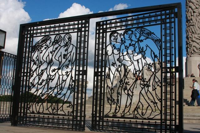 Vigeland Iron Gate