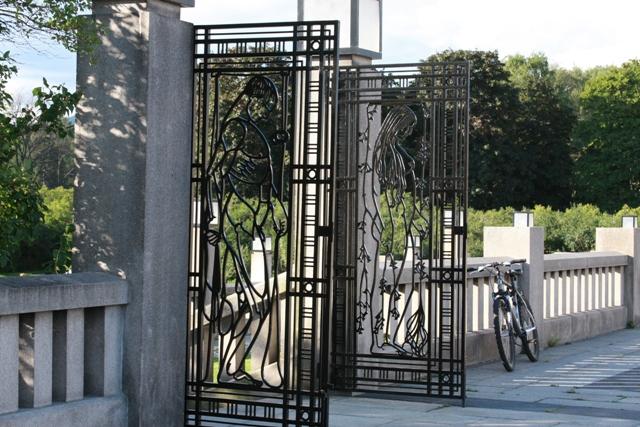Vigeland Gate in Oslo