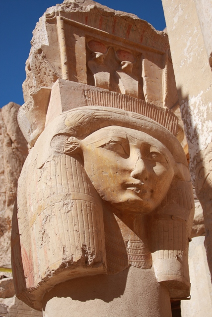 Statue at Hatshepsut
