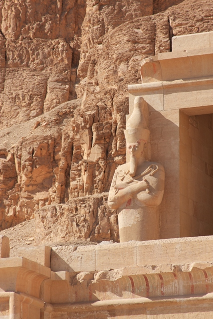 Statue at Hatshepsut Temple