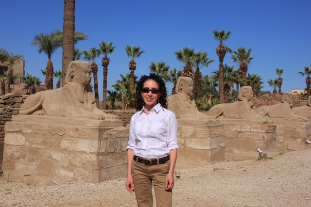 Me at Luxor Temple