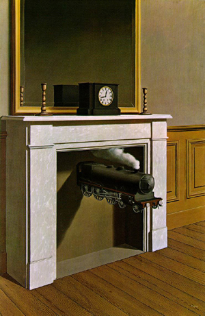Magritte-Train
