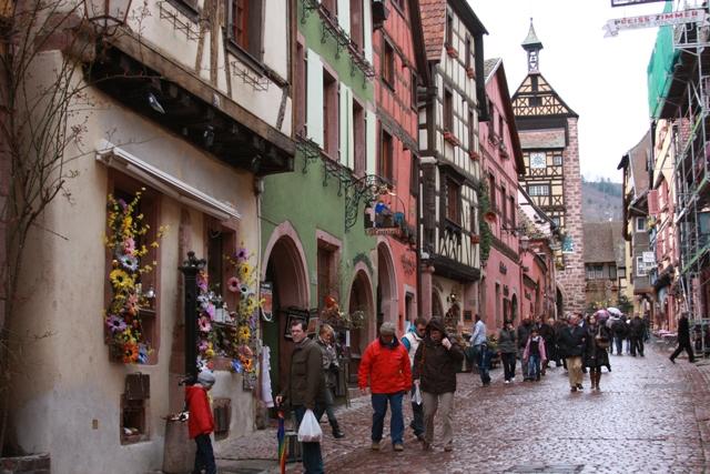 Riquewihr Streets