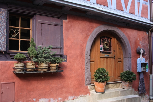 Cute place in Eguisheim
