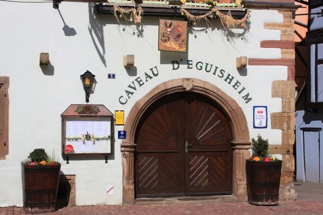 Another wine shop in Eguisheim