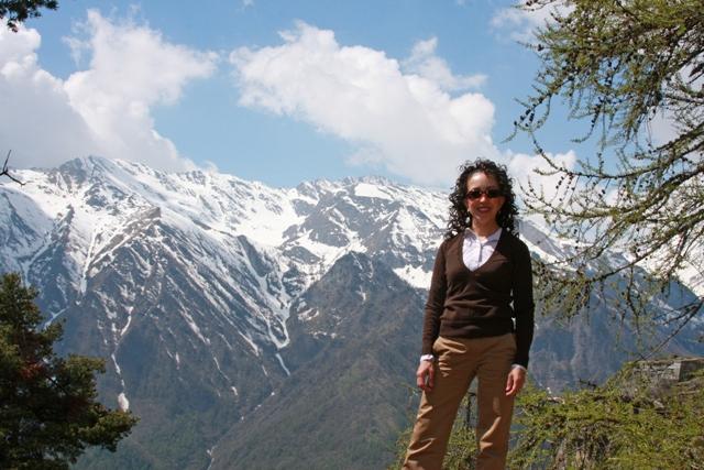 In the Italian Alps