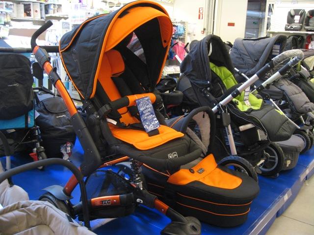 Cool Orange Euro Stroller