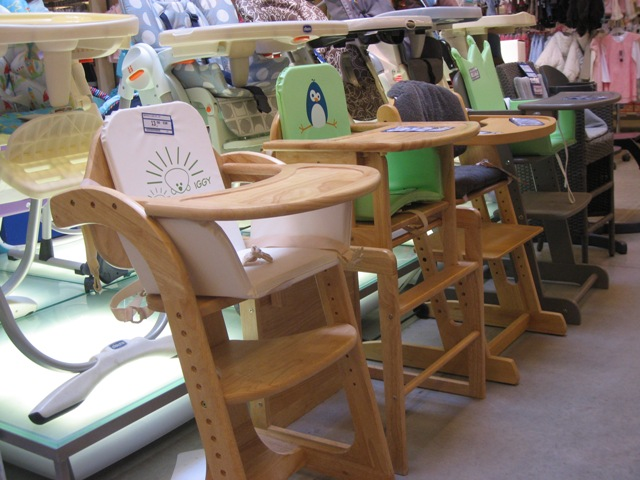 Wooden Highchairs