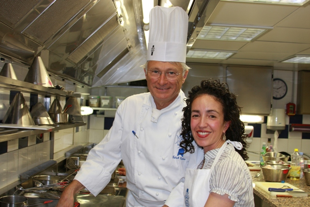 Me with Chef Patrick Terrien