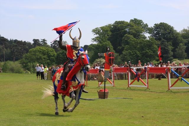 Jousting at Leeds Castle