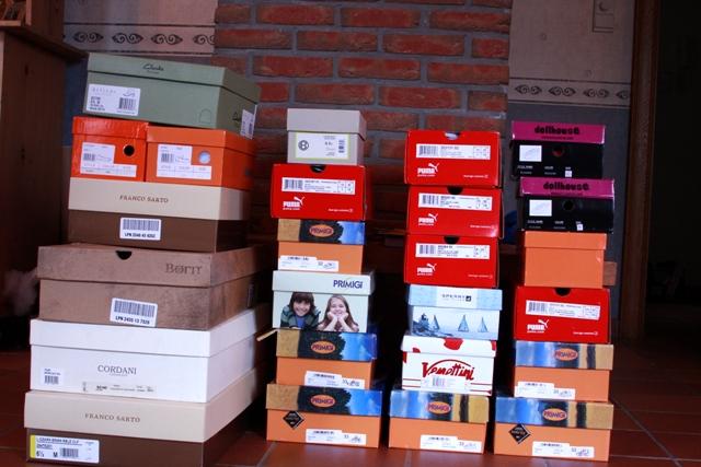 Shoe Shipment