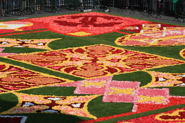 Section of Flower Carpet