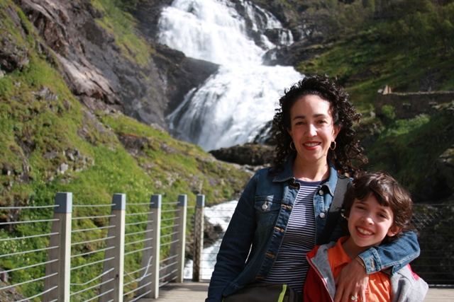C & I near Waterfall Norway