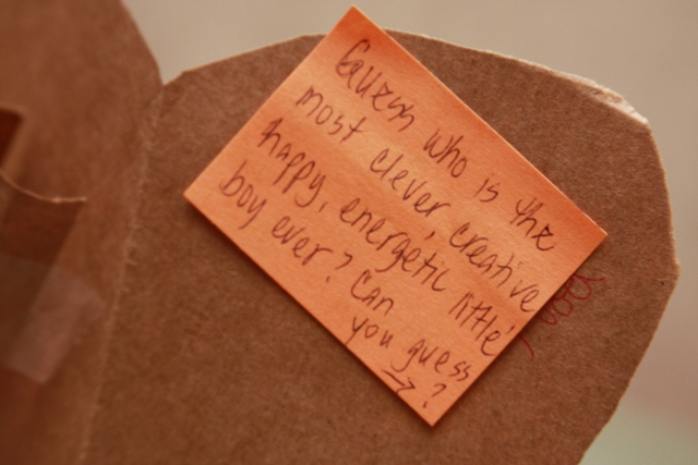Love Note for C