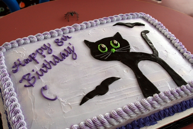C's birthday cake