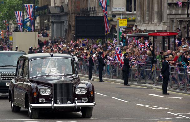 Driving Royal Wedding