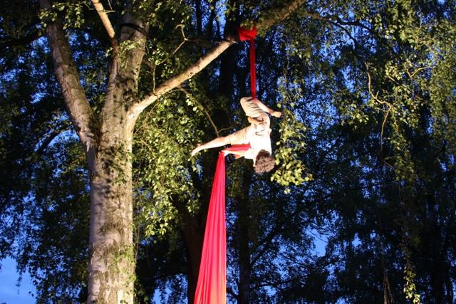 Acrobat at Cirque