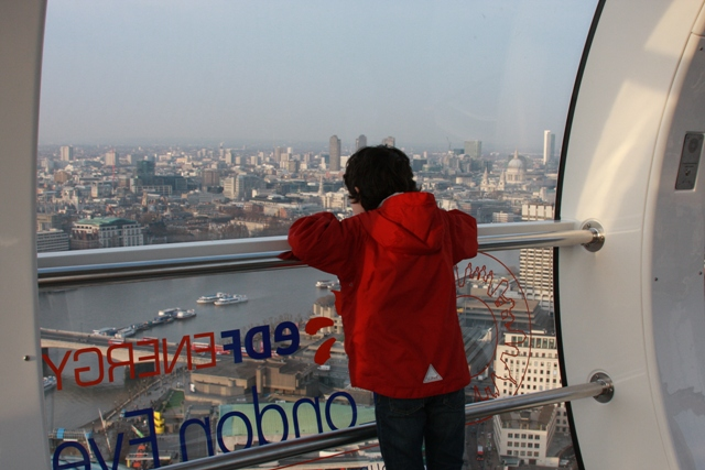 C on the London Eye