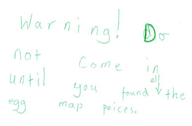 Warning to find map