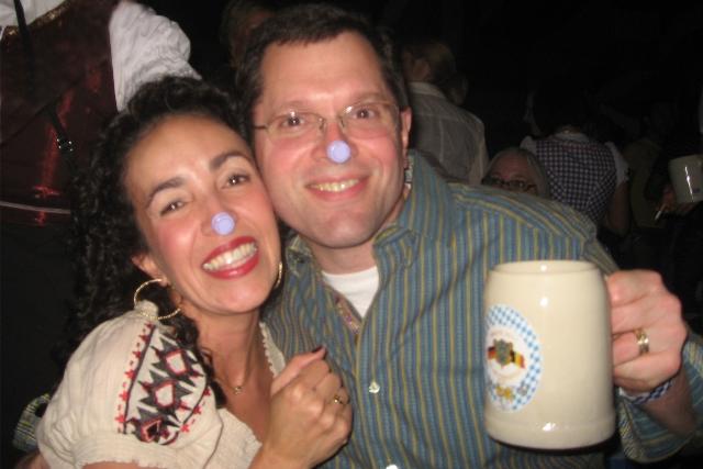 S & Me at Oktoberfest