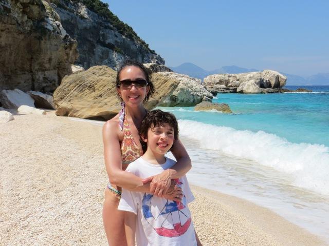 C & Me at Cala Mariolu