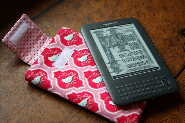 Kindle Case opened