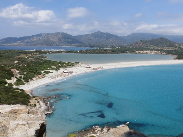 Cala Giunco from the Old Spanish Tower