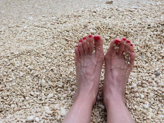 Tortured feet