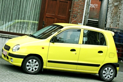 European_yellow_car
